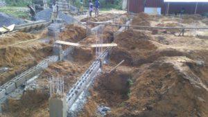 Baustelle mit Solange