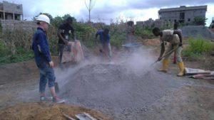 Zement-Arade